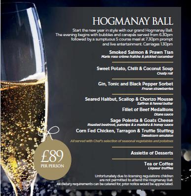 Hogmanay Ball